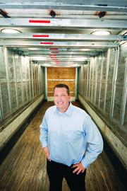 Michael Wagner is now president of his own company, Target Freight Management, which grew more than 2,200 percent between 2009 and 2011.