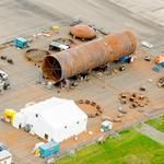 First Boeing 777X autoclave assembled at site near Everett wing plant