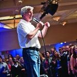 JPMorgan Chase's <strong>Dimon</strong> promotes capitalism in Lone Star State