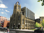 Check out the BRA-approved residential addition to South End church