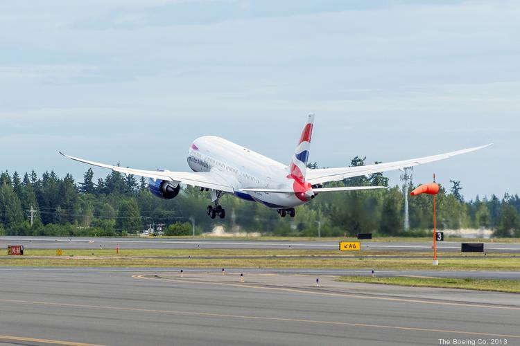 The Boeing Co. has delivered the first 787 Dreamliner to British Airways.