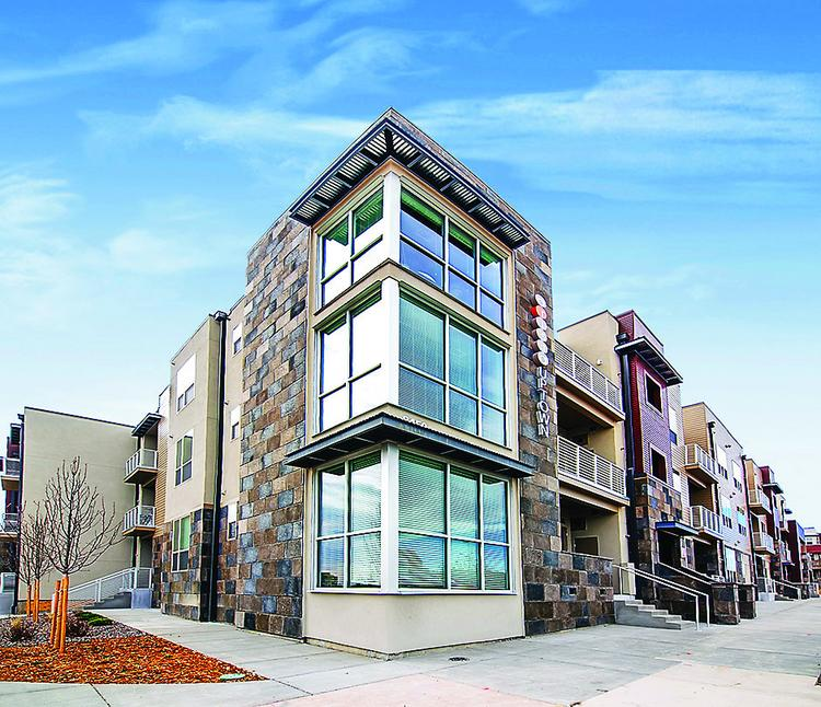 Arista Uptown Apartments are nearing 90 percent occupancy.