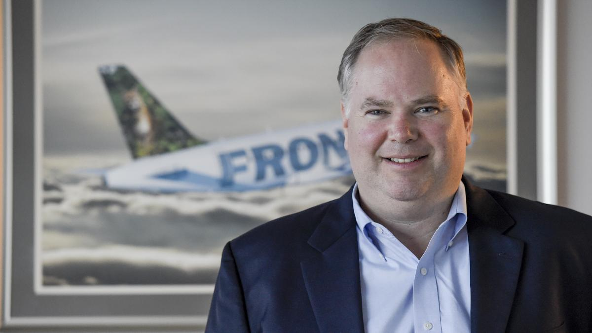 frontier airlines president barry biffle gets new job title