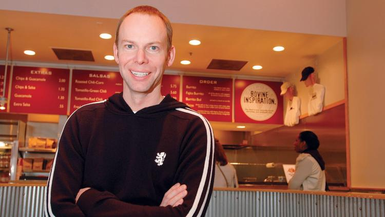 Steve Ells, co-CEO of Chipotle Mexican Grill Inc.