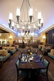 One of the dining rooms at Blu.