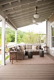 Southern Living's Idea House features a large porch.