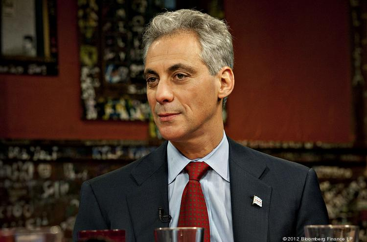 Rahm Emanuel, mayor of Chicago, is rumored to be considering a Presidential run in 2016.