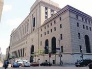 The U.S. Courthouse/post office building, downtown, is No. 6 on the list of the region's largest LEED-certified/green projects at 739,903 square feet.