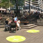 Two new mini-parks open in downtown Minneapolis