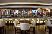 The lounge at Charr'd Bourbon Kitchen and Lounge.
