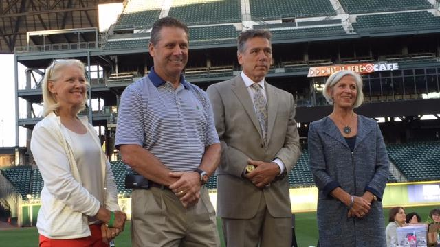 Left To Right Terry And Steve Largent, Jim And Joy Zorn, Co Chairs