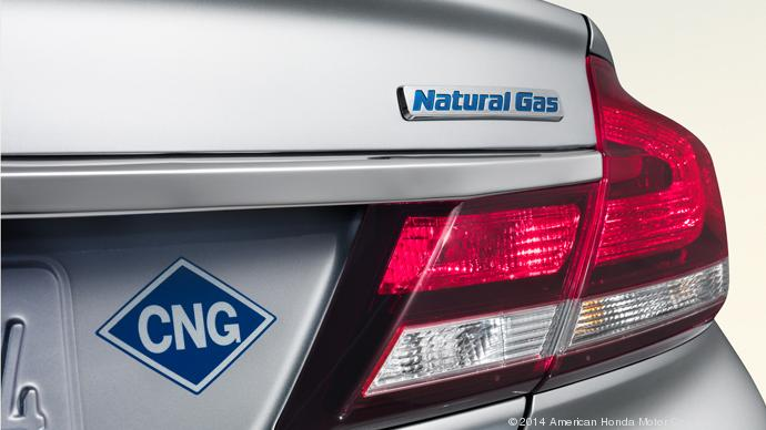 Honda Has Made A Natural Gas Ed Car For 15 Years But Is Discontinuing It