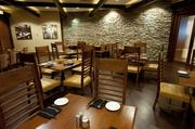 A private dining area at Charr'd.