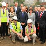 Mayor de Blasio and Mayor Bloomberg together at last for Cornell Tech