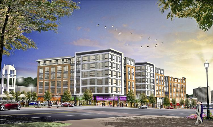 The $80 million redevelopment will include retail space.