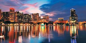 Orlando's projected economic growth ranks the city at No. 9.