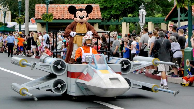 Jedi Mickey won't be the only celebrity to take a ride down Hollywood Boulevard during the Star Wars Weekends 2014. And the fan community, and the tourism industry, can't wait.