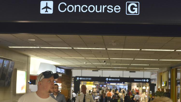 delta air lines has improved its concourse g at minneapolis-st  paul  international airport