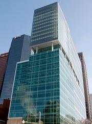 Three PNC Plaza, downtown, is No. 10 on the list of the region's largest LEED-certified/green projects at 620,000 square feet.