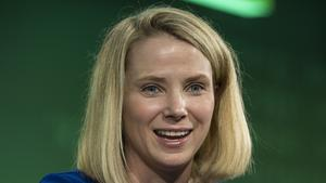 Marissa Mayer, president and chief executive officer at Yahoo! Inc., speaks during the 2015 Bloomberg Technology Conference in San Francisco, California, U.S., on Tuesday, June 16, 2015.