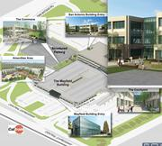 A look at some of the Mayfield mall site's amenities.