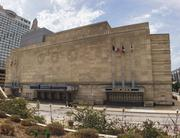 """""""(Municipal Auditorium is) noteworthy for Deco design and decoration, but also for its symbolism to the time period and the community. The structure is related to the Depression, the Pendergast machine, Harry Truman and the Roosevelt programs to end the Depression. Municipal, together with City Hall and the County Courthouse, define what Kansas City was and was to be for that time period."""" Ben Allers, senior project manager, Gastinger Walker Harden + BeeTriplett Buck  """"Kansas City is fortunate to have some glorious Art Moderne architecture from the 1930s, but none is as fine an example as Municipal Auditorium: The arena itself with its wonderful plaster ceilings and light coves; the old exhibition space/mezzanine below accessed off 14th Street; the main circulation lobby off 13th; the octagonal Little Theater space to the east; and then the entrance and mural-embellished grand staircases on the west leading Kansas City up to its piece de resistance -- the richly tasteful beauty of the Music Hall and its sweeping side balconies. Wrap all these interiors in a firmly set yet relief-adorned exterior massing, and add gracious surrounding sidewalks and exit terraces, and we have a true Kansas City gem Downtown between Wyandotte and Central."""" Jim Schraeder, senior project manager, Gould Evans Associates LLC"""