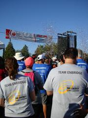 No. 6: Enbridge Energy Score: 55.929 Employees join in at the 2012 Heart Walk.