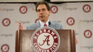 Nick Saban and Alabama will face USC in Texas to kick off the 2016 season.