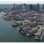 Get a glimpse of the latest redevelopment plan for Boston's <strong>Lewis</strong> Wharf (BBJ photo gallery)