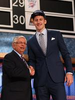 Charlotte Bobcats go big, draft <strong>Cody</strong> <strong>Zeller</strong>