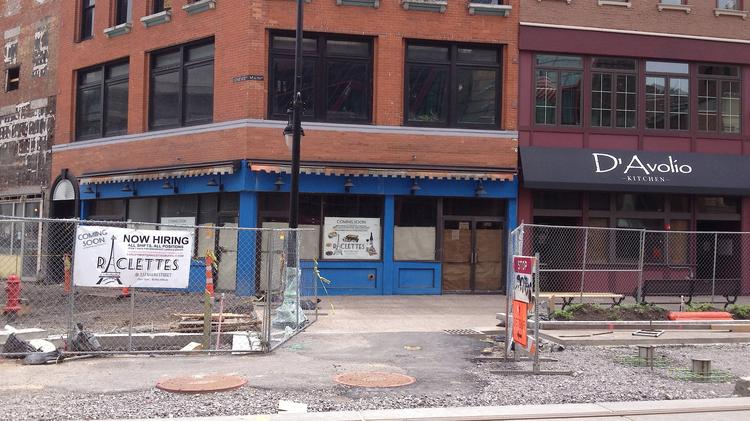 Visible Signs Of Progress Are Underway For Three New Eateries Along The Main Street Roosevelt