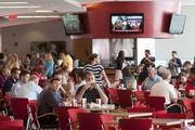 "More than 400 Reds fans attended the ""Vote Reds"" lunch on Thursday, June 27 at the Champions Club at Great American Ballpark. Laptops were available or fans could use their smart phones or tablets to vote for their favorite Reds for the All Star game."