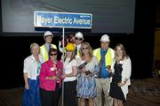 Employees from Mayer Electric Co. at  BBJ Best Places to Work 2013