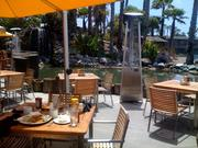The patio at Barefoot Bar & Grill