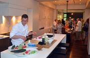 Raleigh restaurant Buku was fast at work making fresh sushi for guests.
