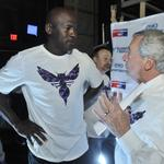 Odds and ends as Charlotte Hornets salute military