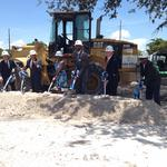 Affordable housing project by Miami Heat's <strong>Mourning</strong> breaks ground