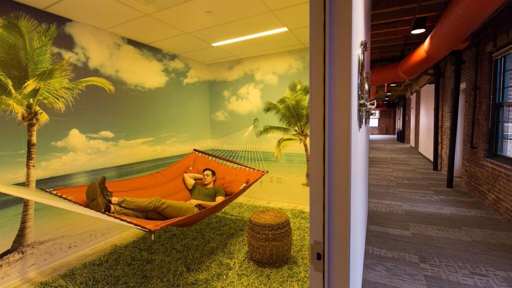 These Nap Rooms At Boston Area Tech Firms Will Make You