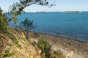 Looking from Peddocks East Head to Georges Island.
