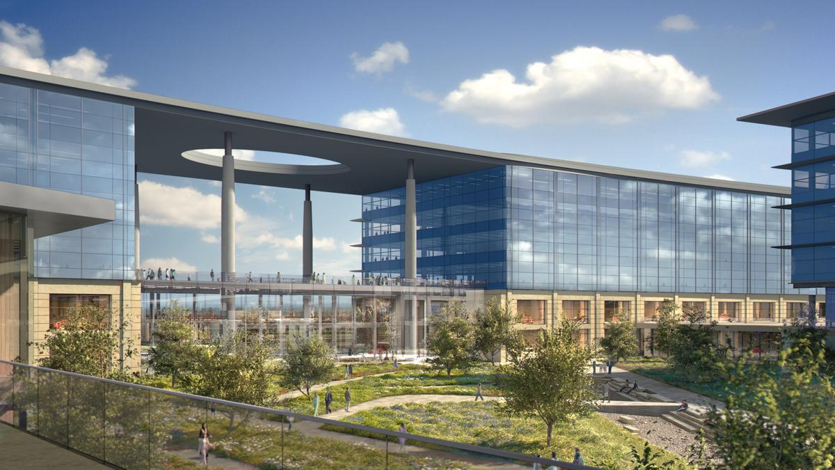 Toyota unveils sprawling north american campus in plano video dallas business journal