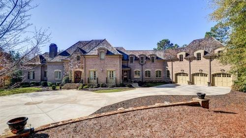 Spectacular estate home in the foothills of the North Georgia mountains!