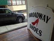 Broadway Shoes is opening at 54 Columbia St., next to The Enchanted Florist