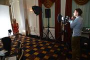 Getting headshots taken at the South Jersey Entrepreneur Awards.