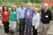 (From left) The Valker family, Katie, 16, Patty, Louis, Pat Landen, Mary and Bud.