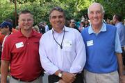 Greg Speidel, Peter Marrocco and Drew Barton at the Africa exhibit's opening.