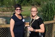 Debra Savage, from Bioformix Inc. and her daughter Marisa Rogers.