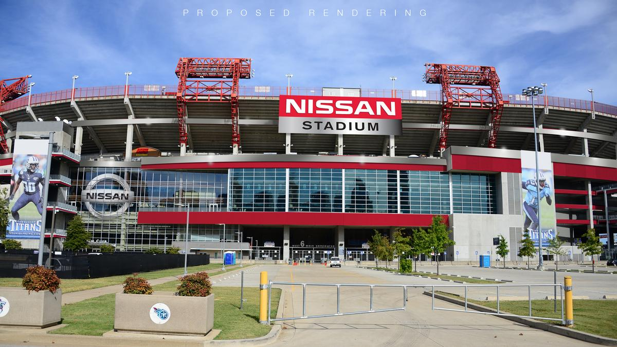 First Look: Check Out Nissan Stadium, The Newly Rebranded Home Of The NFLu0027s  Tennessee Titans   Nashville Business Journal