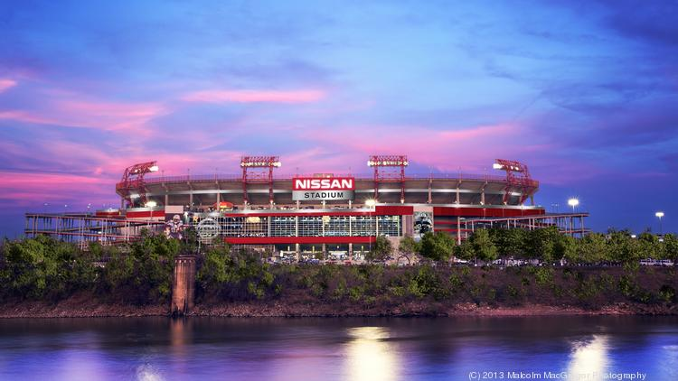 Beautiful This Rendering Depicts Nissan Stadium As Seen From The West (downtown) Bank  Of The
