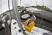 """Avid sailor John Matheson said he was always an """"outside kid.""""  Click here to read storyReal estate estate sails through the summer"""