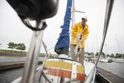 Matheson dabbled in recreational pursuits like bike racing, but it was the lure of the water and the challenge inherent in the sport of sailing that put Matheson on a lifelong course.  Click here to read storyReal estate estate sails through the summer